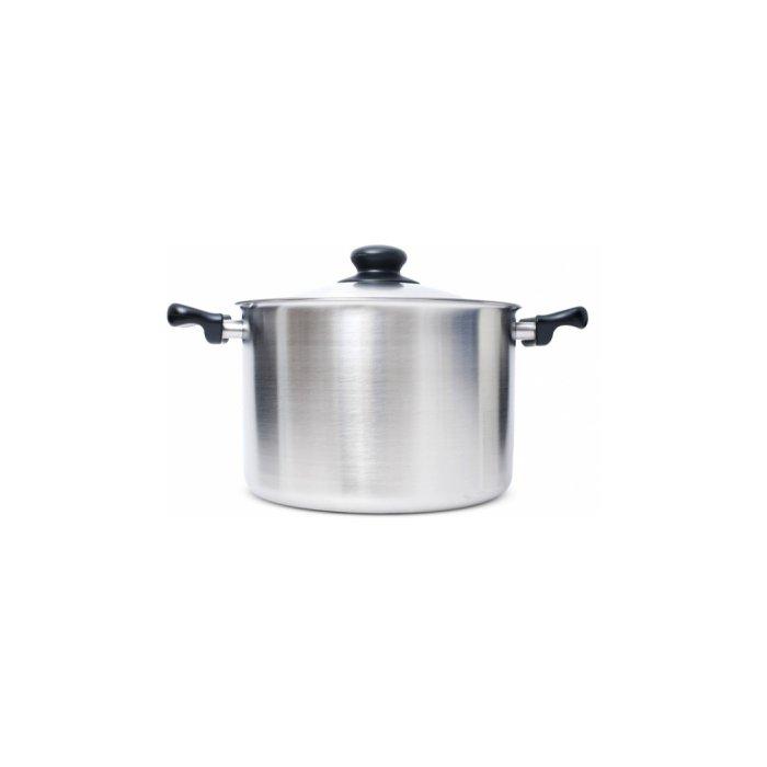 Stainless Steel Pan (Deep) by Sori Yanagi