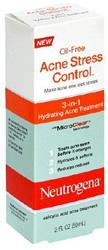Neutrogena Acne Stress Control, 3-in-1 Hydrating Acne Treatment