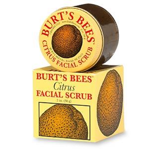 Burt's Bees Citrus Facial Scrub