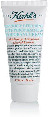 Kiel's Superbly Efficient anti-Perspirant & Deodorant Cream