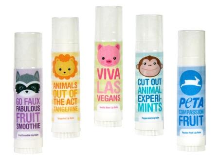 PETA Vegan Lip Balm