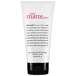 Philosophy Total Matteness Pore-Minimizing & Mattifying Cleanser Mask