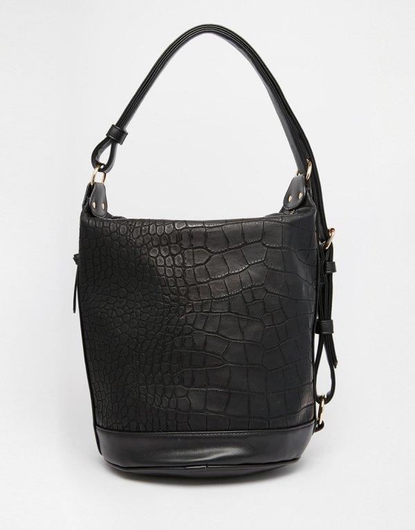 Croc Slouch Bag
