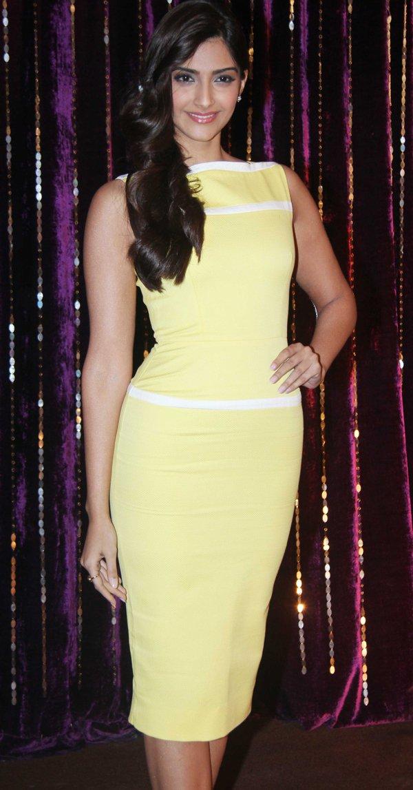 Sunshine Yellow in Victoria Beckham