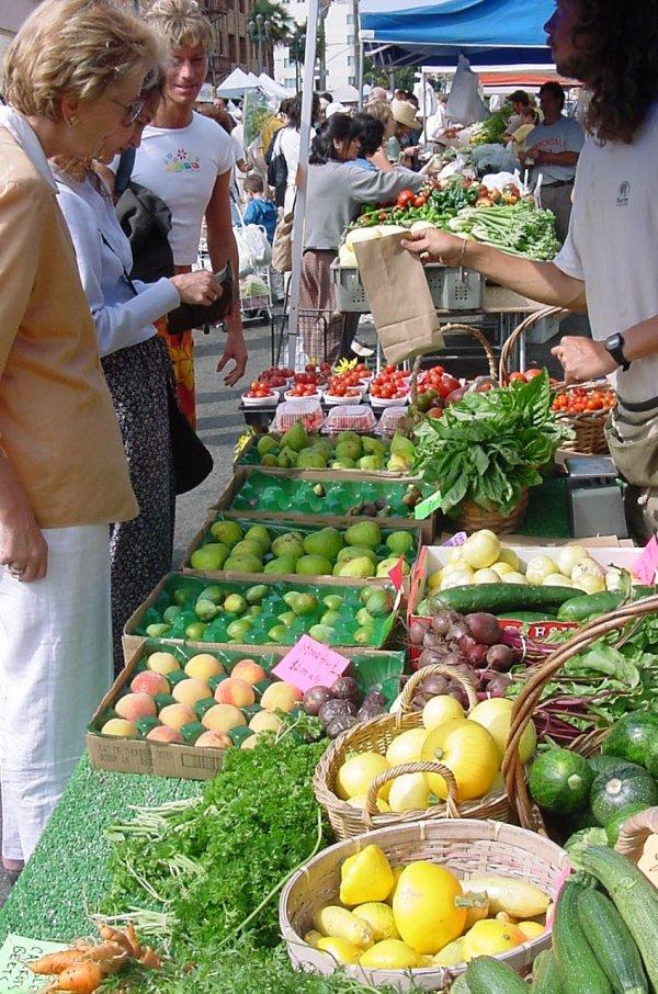 Santa Monica, California Farmer's Market
