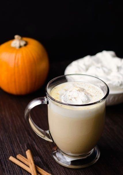 Warm Pumpkin Latte