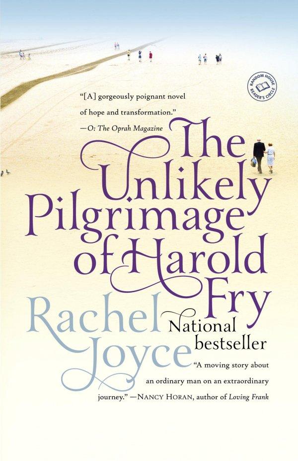 'the Unlikely Pilgrimage of Harold Fry' by Rachel Joyce