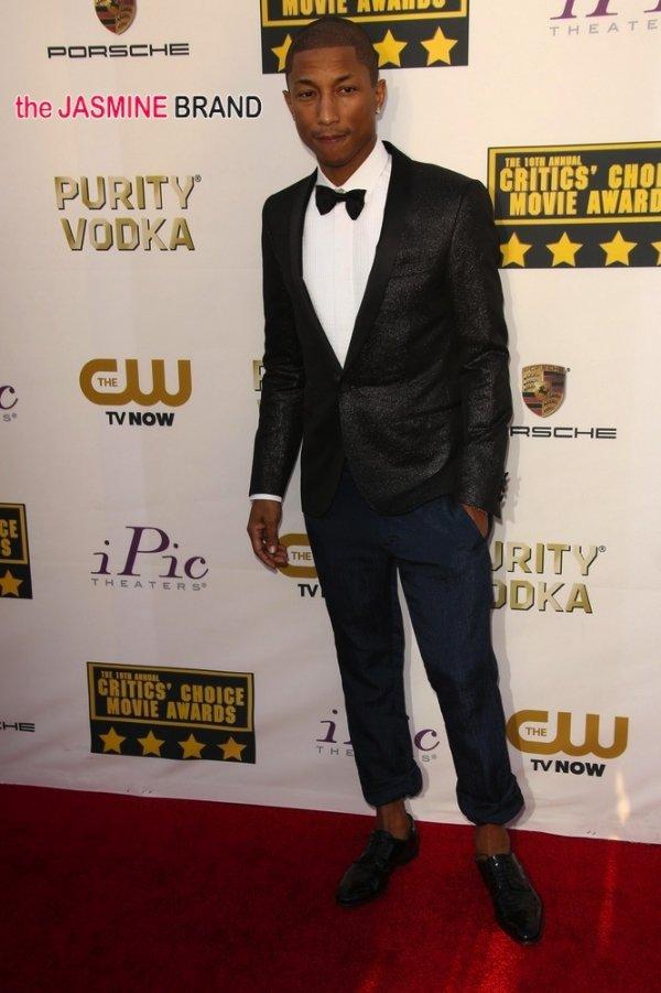 Fashion Icon Award – Pharrell Williams