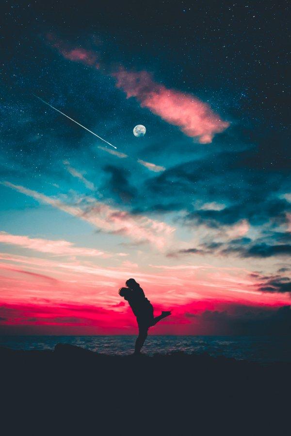 Sky, Red, Horizon, Cloud, Pink,