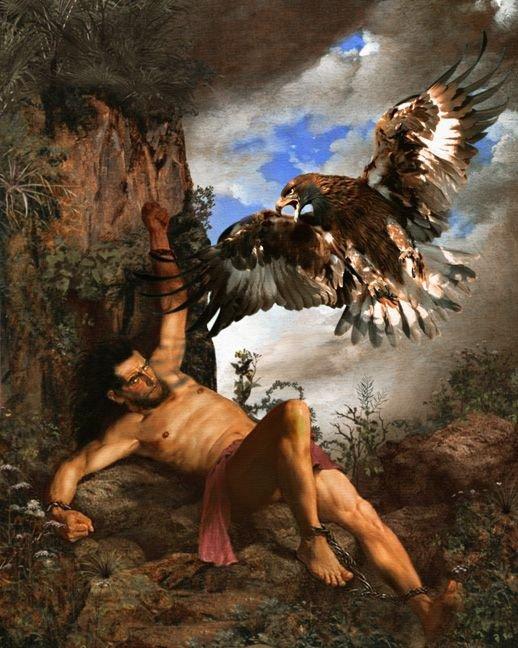 Prometheus - Titan Who Gave Fire to Mankind
