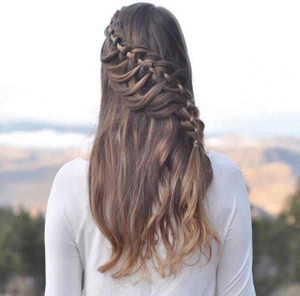 hair, hairstyle, long hair, braid, head,