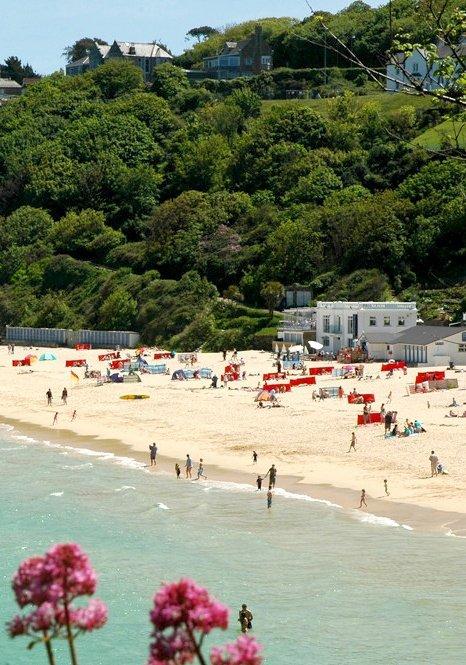 Porthminster Beach, St. Ives, England