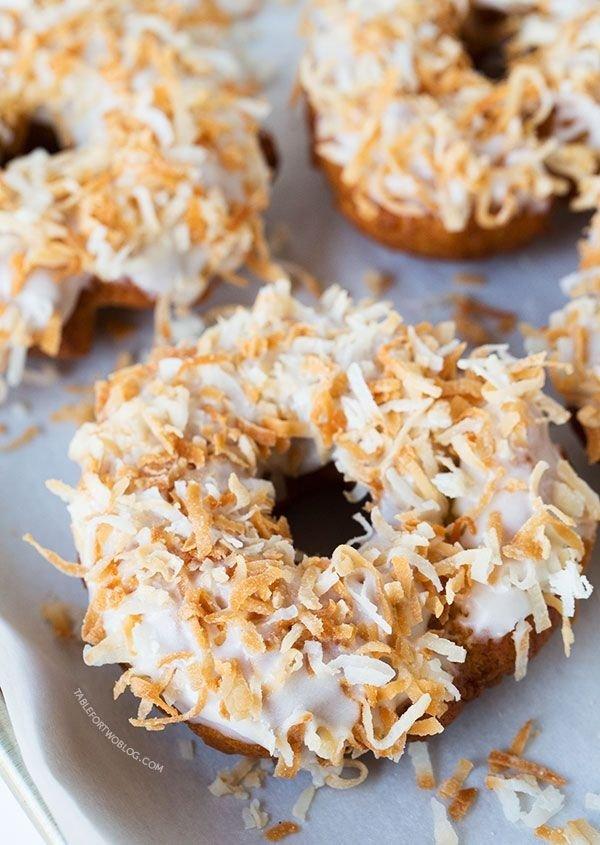 Triple Coconut Donut!