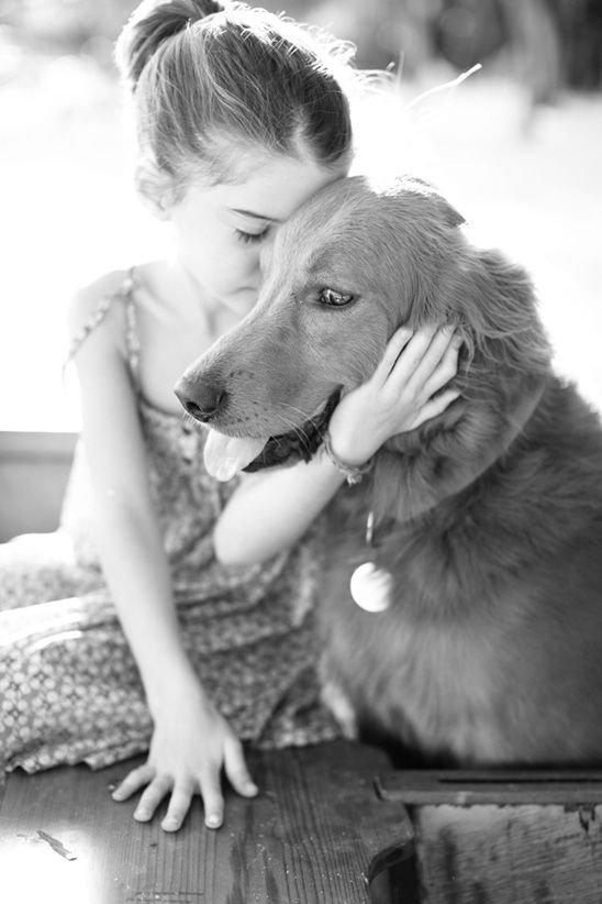 Maya and Her Dog