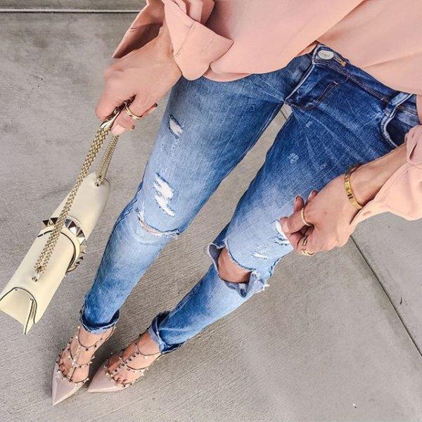 clothing, blue, footwear, jeans, denim,