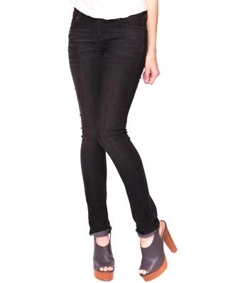Whiskered Skinny Jeans