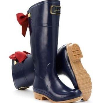 French Navy Evedon Women's Premium Rain Boot