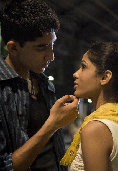 """Jamal and Latika, """"Slumdog Millionaire"""""""