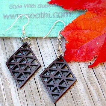 Coconut Diamond Cut Earrings