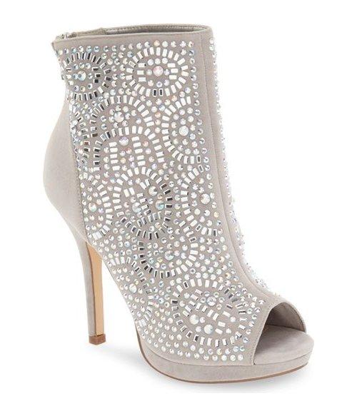 footwear, leg, high heeled footwear, leather, beige,