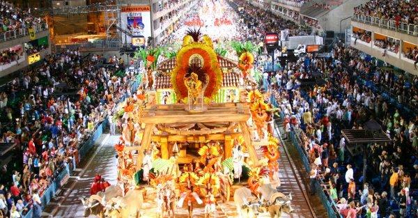 Samba at Rio Carnival