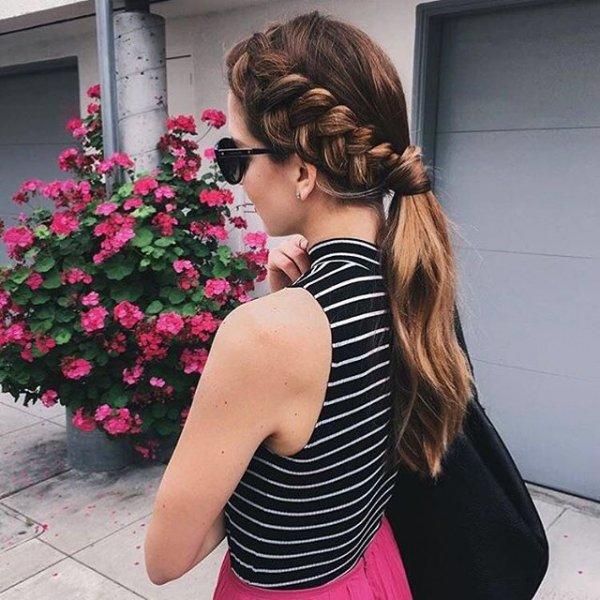 clothing, black, dress, pink, little black dress,