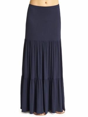 Loveappella Knit Maxi Skirt