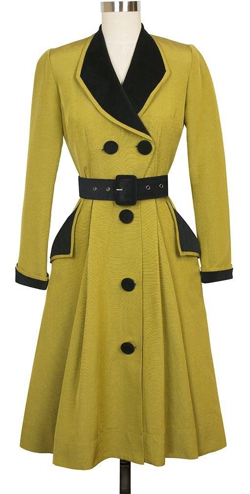 7 Beautiful Coat Dresses That Will Make You Feel Like A