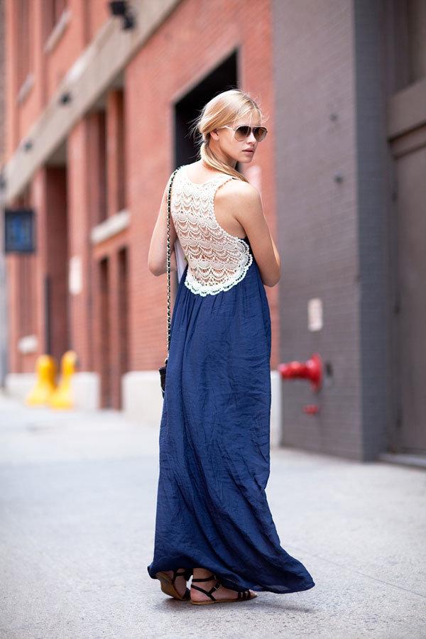 Boho-Chic in a Maxi Dress