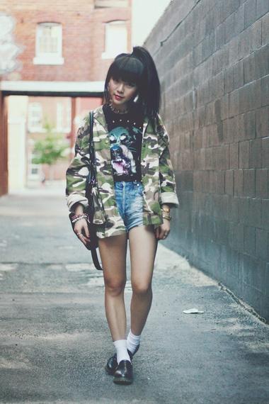 9 Awesome Street Style Ways To Wear Denim Shorts