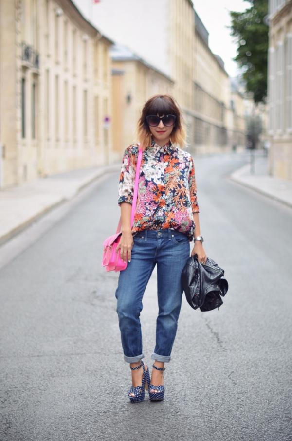 Denim and Florals
