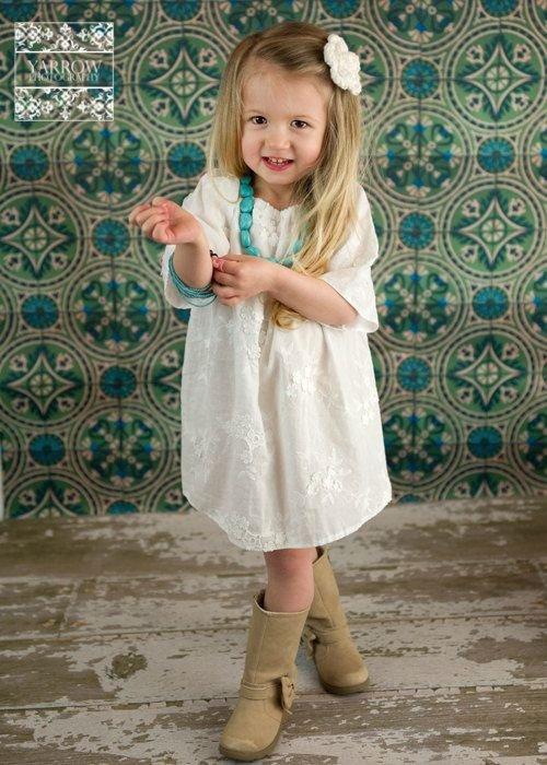 White Cotton Peasant
