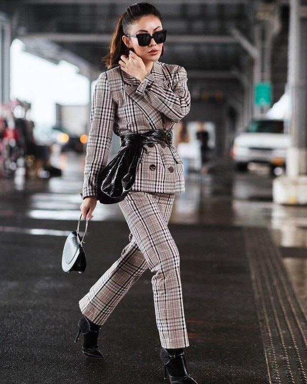 fashion model, fashion, eyewear, vision care, plaid,