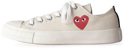 Comme Des Garçons Cotton Canvas Sneaker