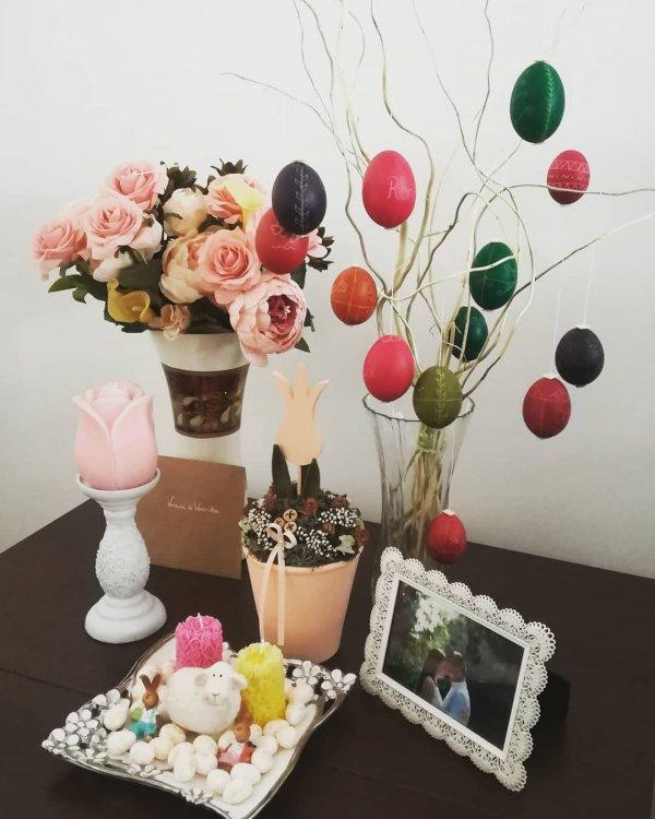 Pink, Branch, Artificial flower, Centrepiece, Spring,