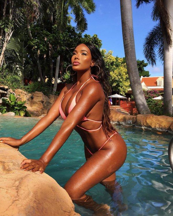 swimwear, beauty, undergarment, vacation, black hair,