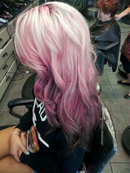 Pink Reverse Ombré