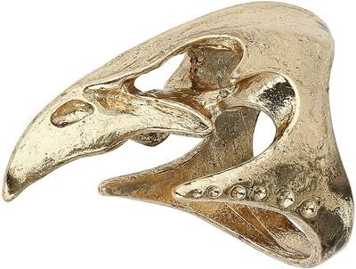 Topshop Metal Bird Skull Ring