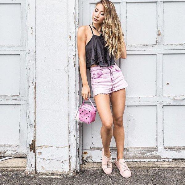 clothing, pink, footwear, leg, fashion,