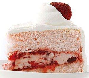 Frozen Berry Angel Shortcake
