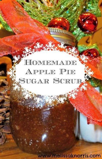 Homemade Apple Pie Sugar Scrub