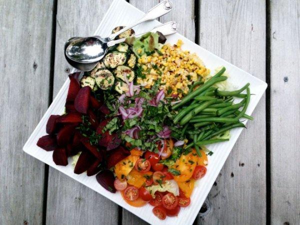 Make a Big Salad at the Beginning of the Week