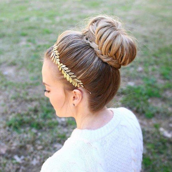 hair, hairstyle, toddler, bun, headgear,