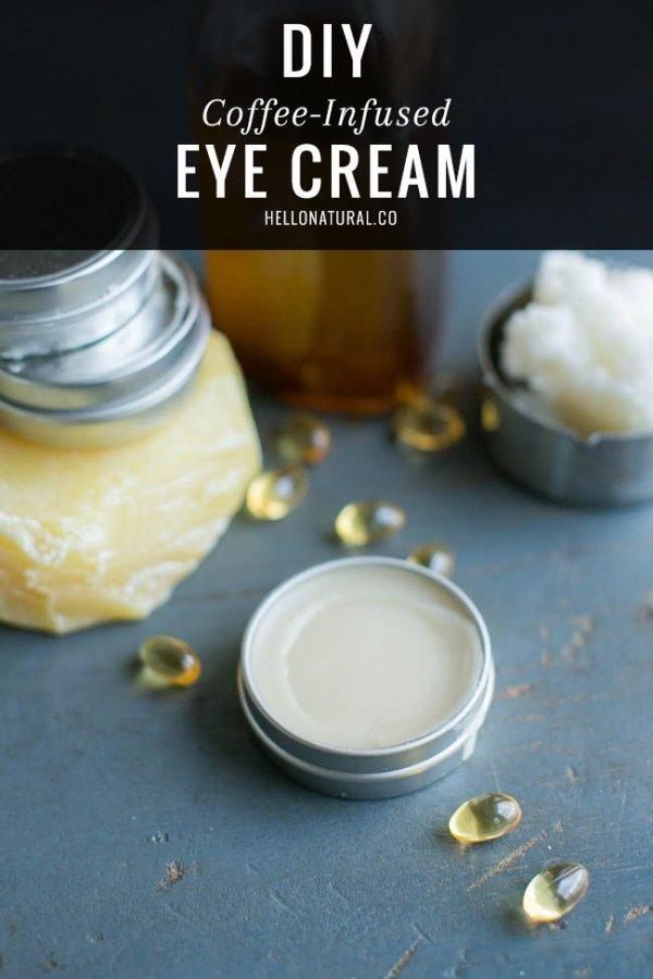 Coffee-Infused Eye Cream