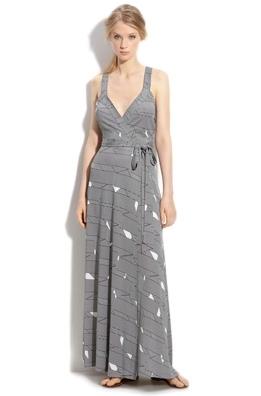 Diane Von Fastener 'Samson' Maxi Wrap Dress