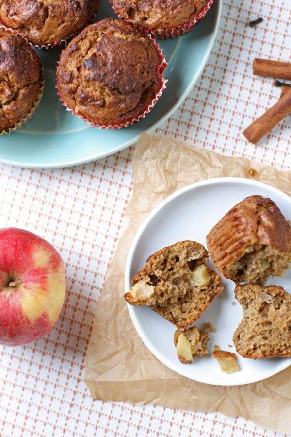 Chunky Apple Cinnamon Muffins