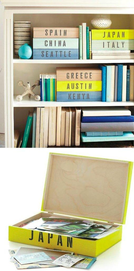 Make Display-worthy Keepsake Boxes for Favorite Destinations