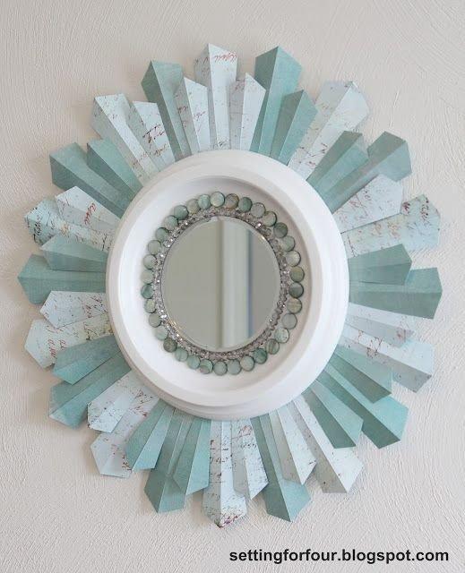 Bejeweled Sunburst Mirror