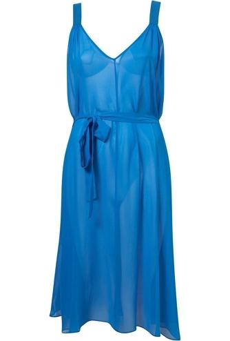 Topshop Silk Vest Dress