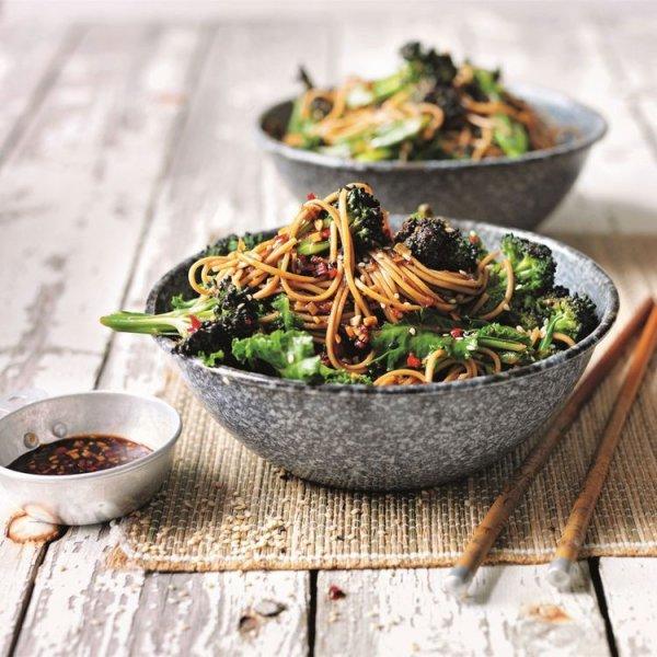 dish, food, vegetarian food, leaf vegetable, noodle,